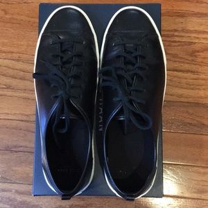 Black Leather Cole Haan Sneakers